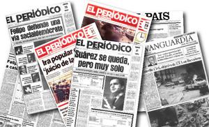 Així va explicar la premsa les mocions de censura a Adolfo Suárez i Felipe González