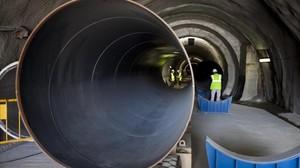 Túnel de interconexión del agua entre el Ter y el Llobregat.