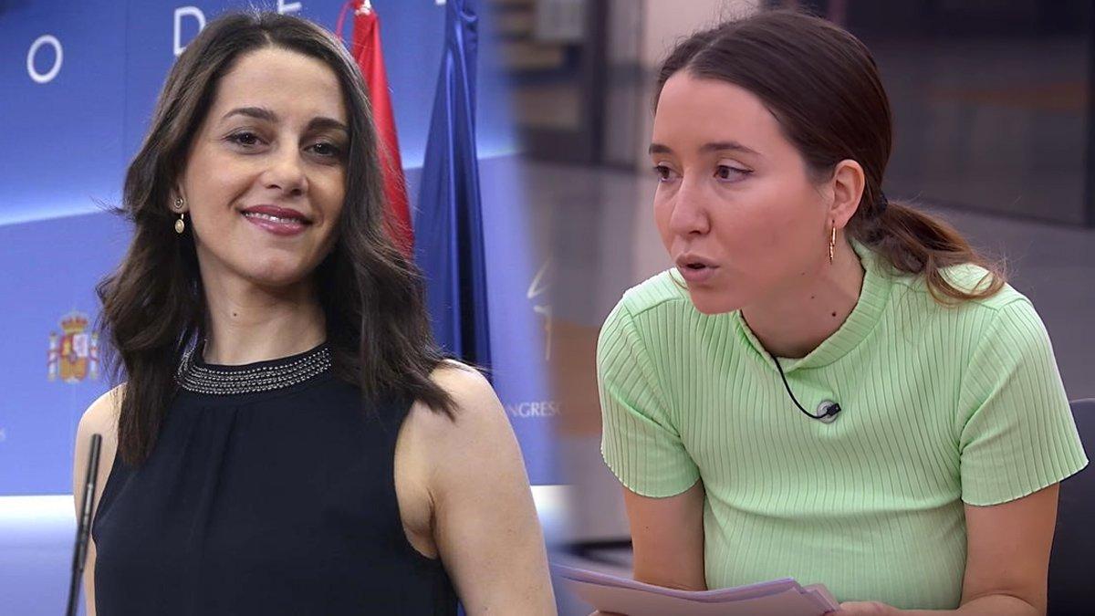 Inés Arrimadas esclata contra TVE i 'OT 2020' per la xerrada sobre feminisme d'Anna Pacheco
