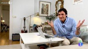 Ion Aramendi en 'Todos en casa'.