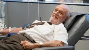 James Harrison, de 81 años,hizo su última donación sanguínea el 11 de mayo de 2018.