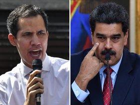 Juan Guaidó y Nicolás Maduro: dos presidentes para Venezuela.