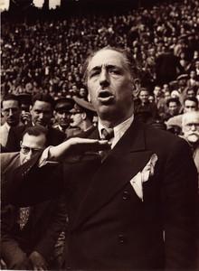 Lluís Companys fue líder de Esquerra Republicana de Catalunya y presidente de la Generalitat de Catalunya.