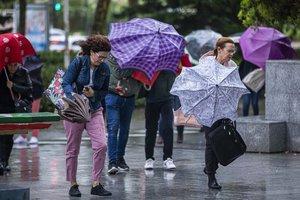 Las precipitaciones podrán ser localmente fuertes o persistentes en Galicia.