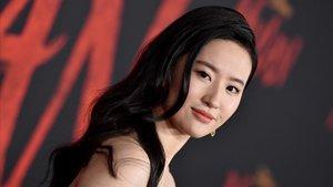 Liy Yifei, en el estreno de Mulan en Hollywood, el pasado 9 de marzo.