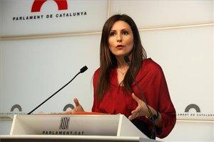 La senadora de Ciudadanos, Lorena Roldán.