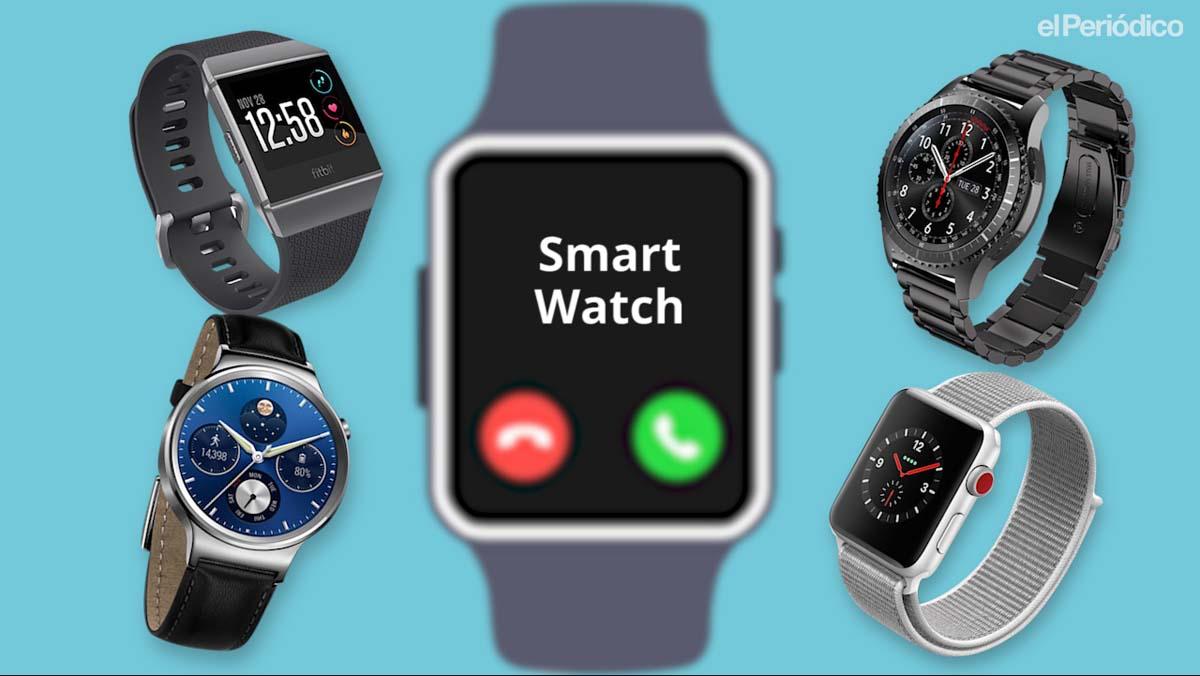 Relojes inteligentes topes de gama