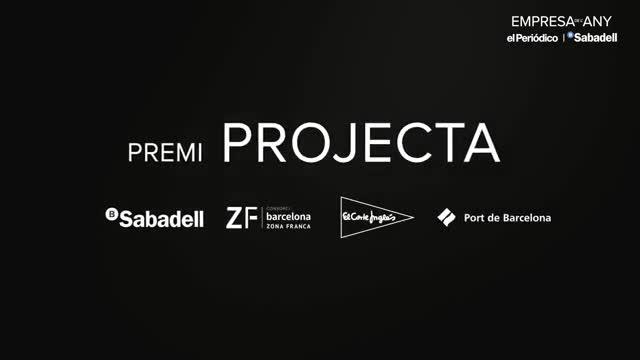 Lucta ha sido galardonada con el premio Projecta.