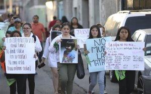 Protestas en México por el asesinato de una niña de 7 años.
