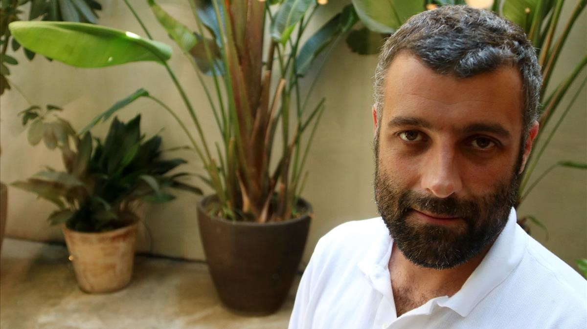 Nacho Carretero, en Barcelona, este mes de julio.