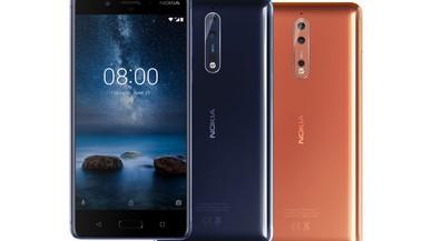 Nokia 8, un 'smartphone' con diferencias