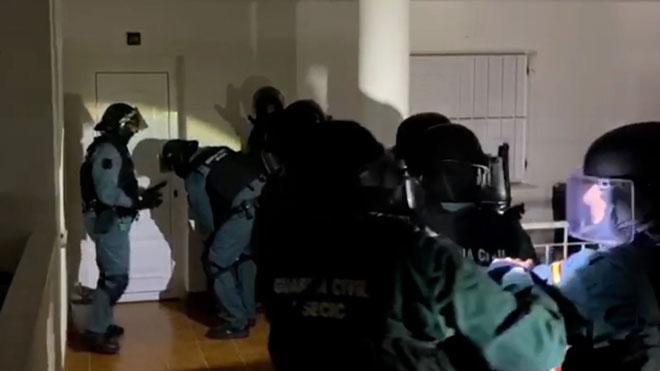 Nueve detenidos en Almería por delitos de incitación al odio.