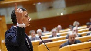 Sánchez pide a Rivera que no asuma el discurso de Vox