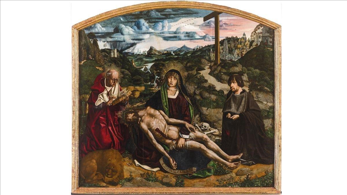 La Piedad Desplà de Bartolomé Bermejo.