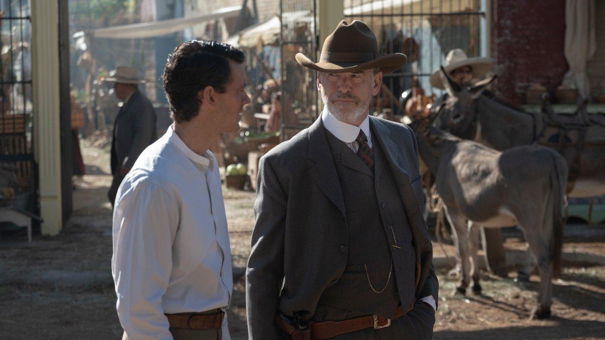 Pierce Brosnan, en la serie 'The son'.