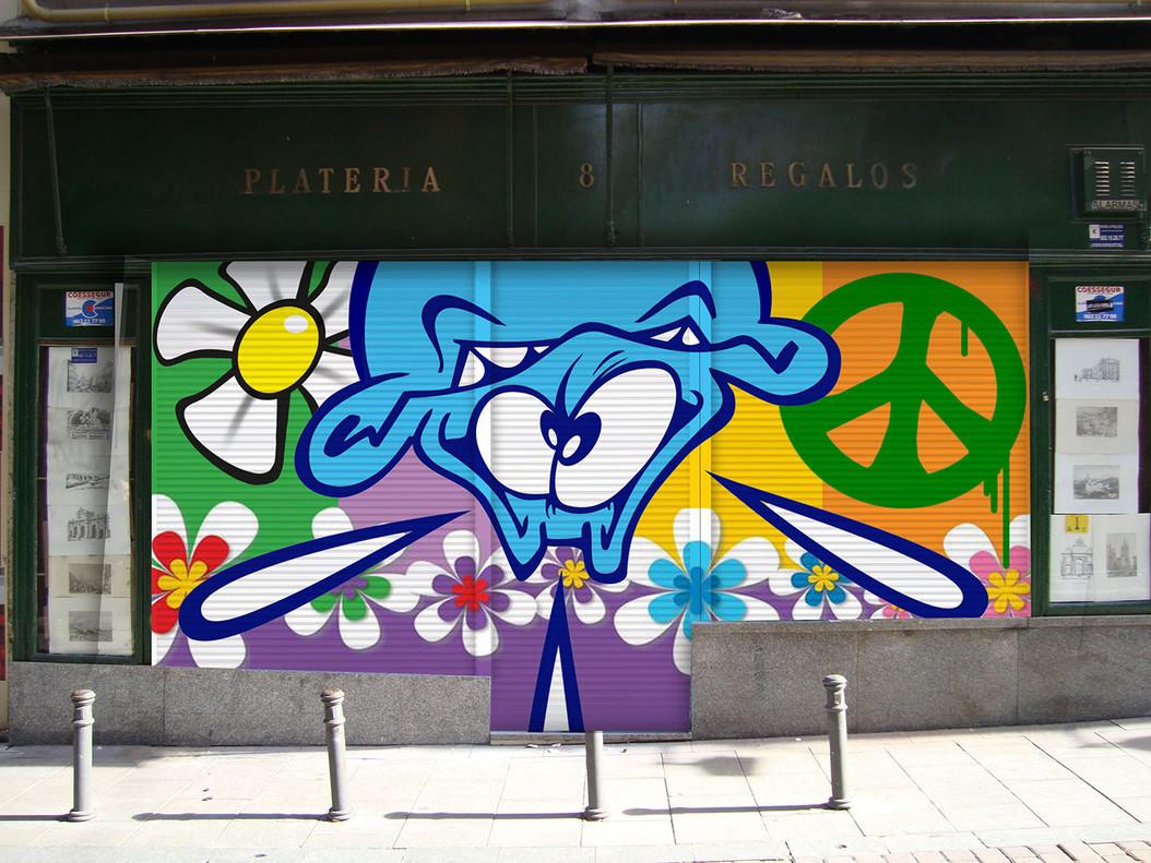 ¡Pinta Malasaña! llena el centro de Madrid de arte urbano con 100 creadores