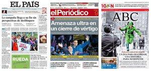 Prensa de hoy: Las portadas de los periódicos del sábado 9 de noviembre del 2019