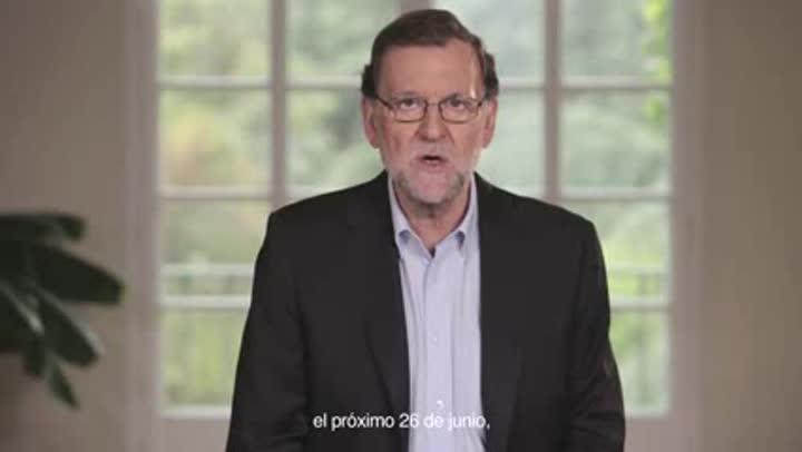 Rajoy pide ir en serio el 26-J