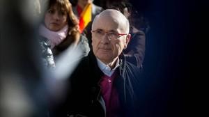 Josep Antoni Duran Lleida, en un acto de Unió.