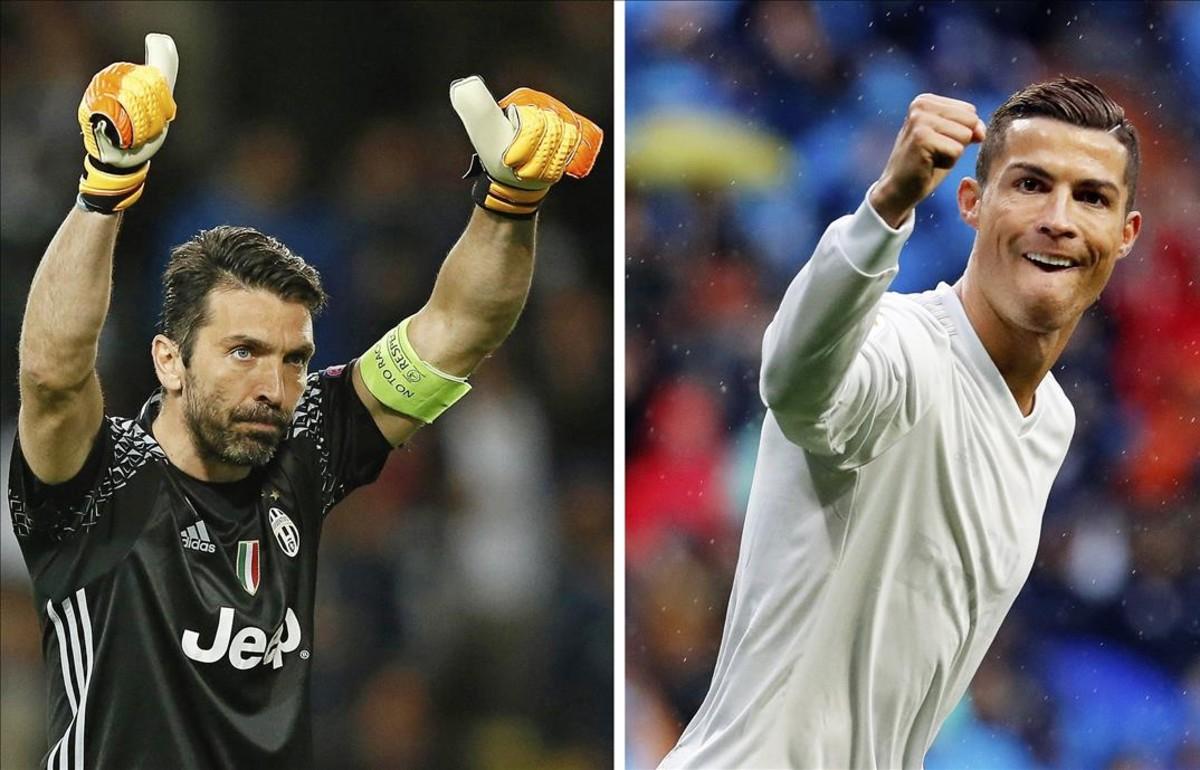 Ronaldo y Buffon lucharán por el título en la máxima competición contienental.