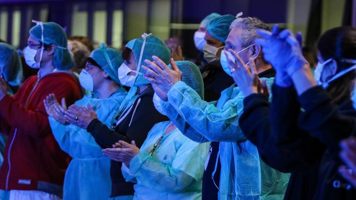 Els hospitals catalans demanen cartes de suport als alumnes
