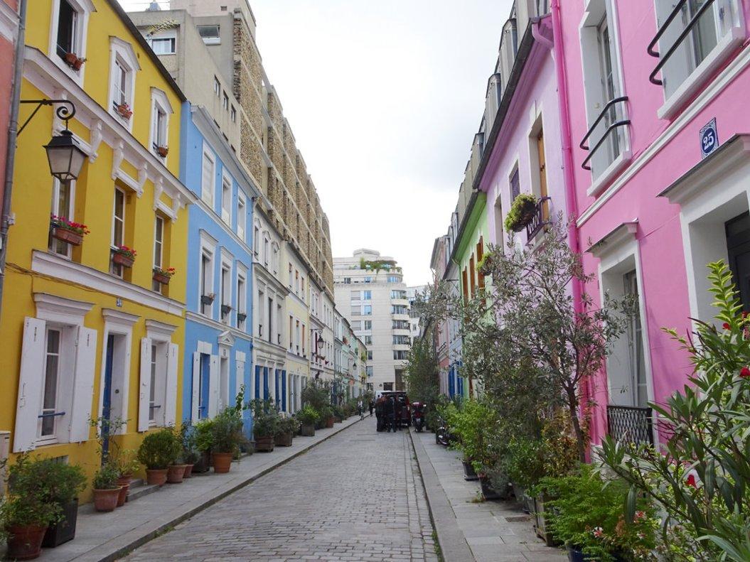 Rue Crémieux, una de las calles de París más buscadas por los 'influencers' para subir fotos a Instagram.