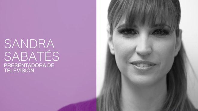 Sandra Sabatés: «Si no em coneixes de res, la teva floreta m'humilia i em cosifica»