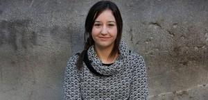 Sara González, autora del libre 'Cas Mercuri. La galàxia Bustos'.
