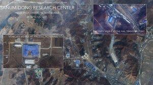 Las imágenes, analizadas por el experto en proliferación del Instituto de Estudios Internacionales de Middlebury, Jeffrey Lewis.