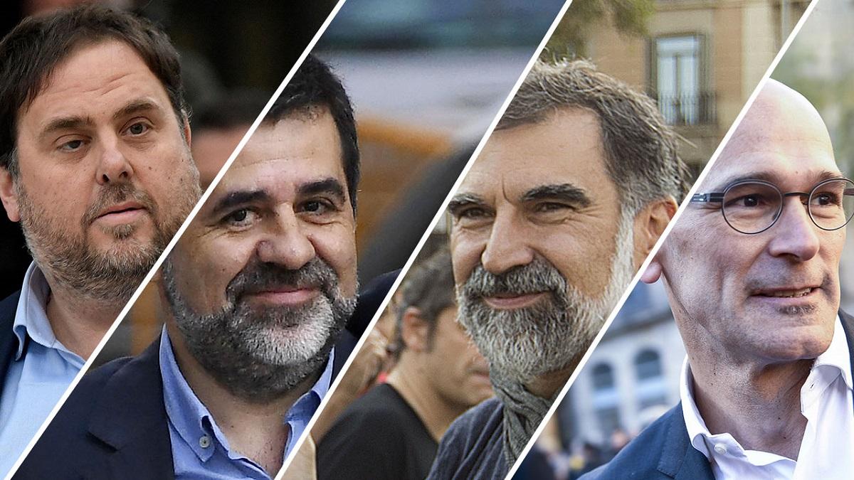 Condenas de hasta 13 años para los líderes del 'procés'