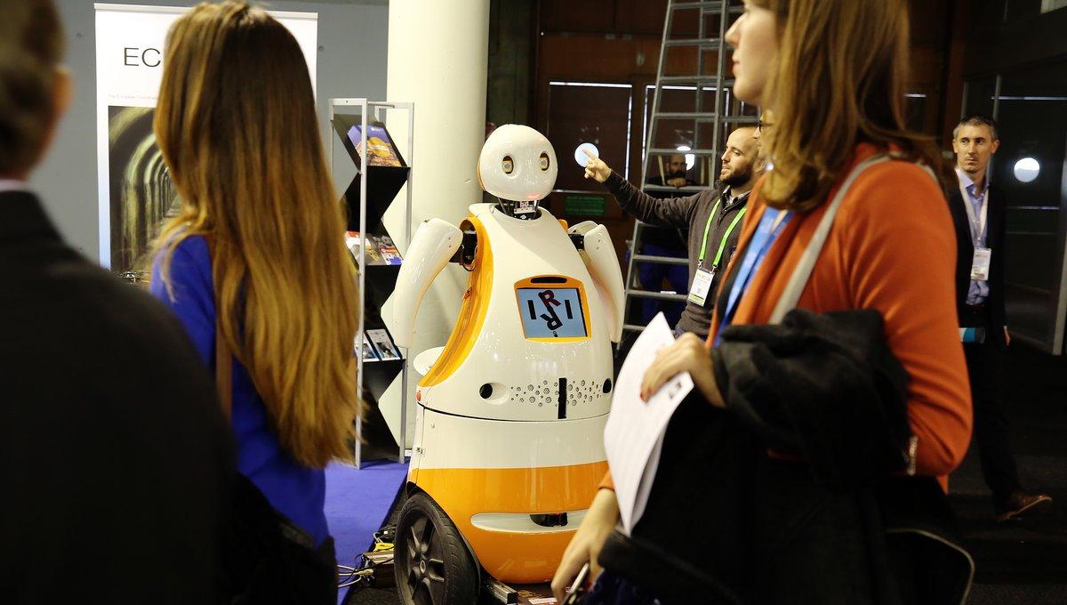 Imagen de archivo del ambiente en una de las ediciones de la Smart City Expo World Congress, en Barcelona.