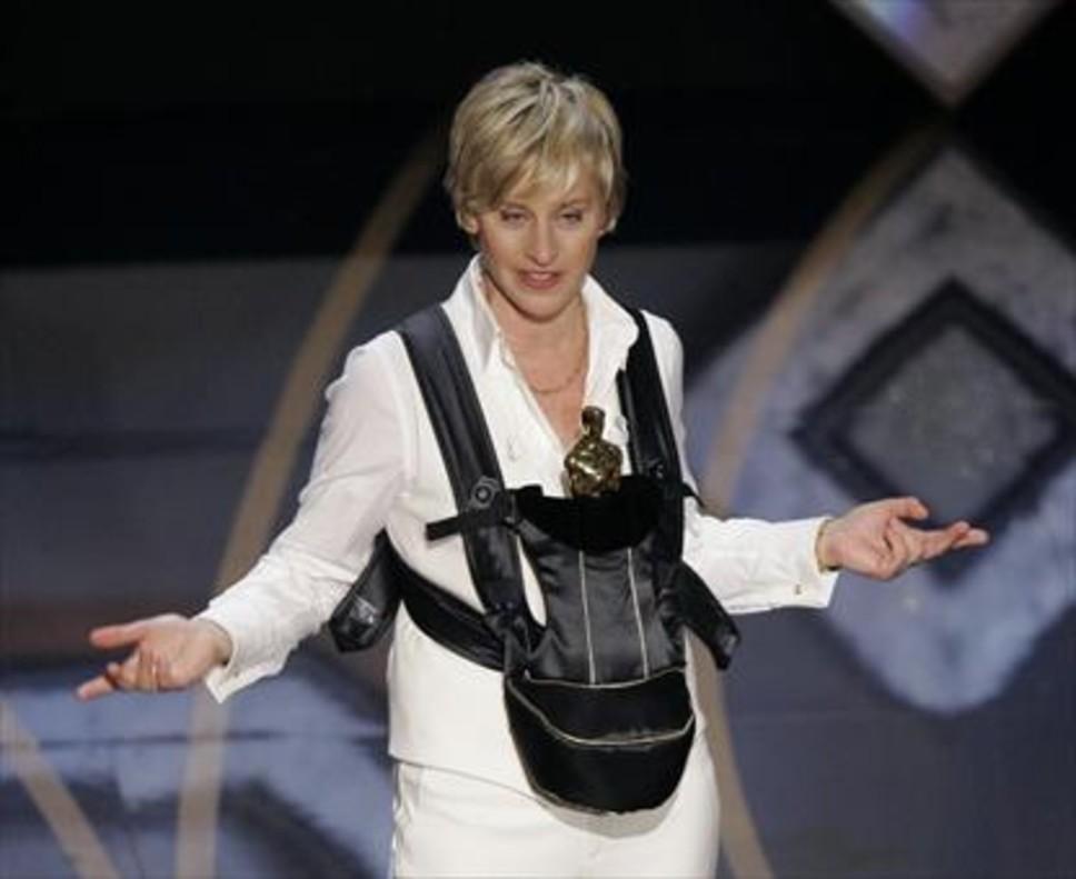 La presentadora de televisión Ellen DeGeneres, una de las profesionales que ya está en la lista de futuras estrellas de YouTube.