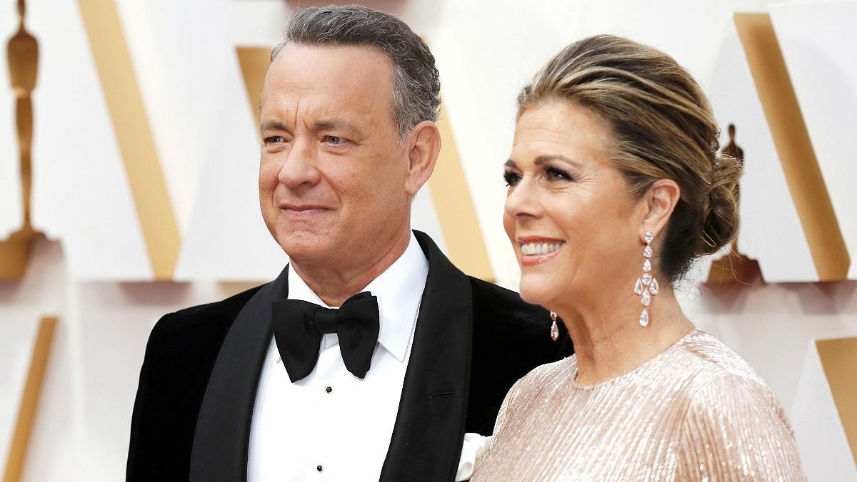 Tom Hanks y su mujer se contagian de coronavirus en Australia.