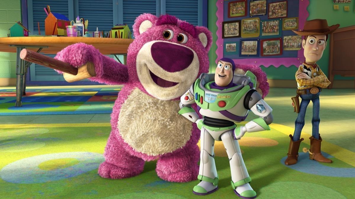 Imagen de la película Toy Story 3.