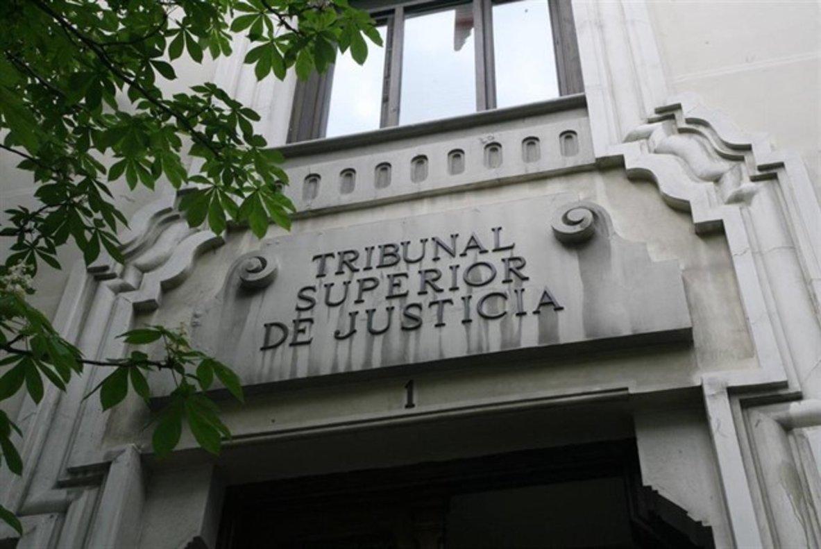Fachada del Tribunal Superior de Justicia de Madrid.