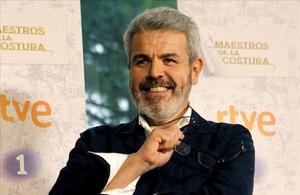 El diseñador Lorenzo Caprile, jurado de Maestros de la costura en TVE.