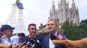 Collboni i Valls, contra Maragall per la seva crítica a la política de seguretat de BCN