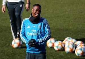 Vinicius ha sumado pocos minutos en el Real Madrid.