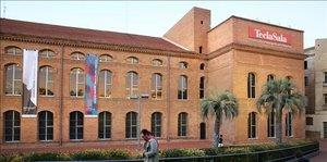 El centro cultural Tecla Sala, del barrio de Sant Josep en L'Hospitalet.