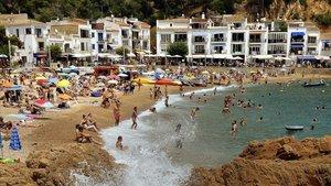Una aplicació informarà els usuaris sobre l'aforament de les platges de Palafrugell