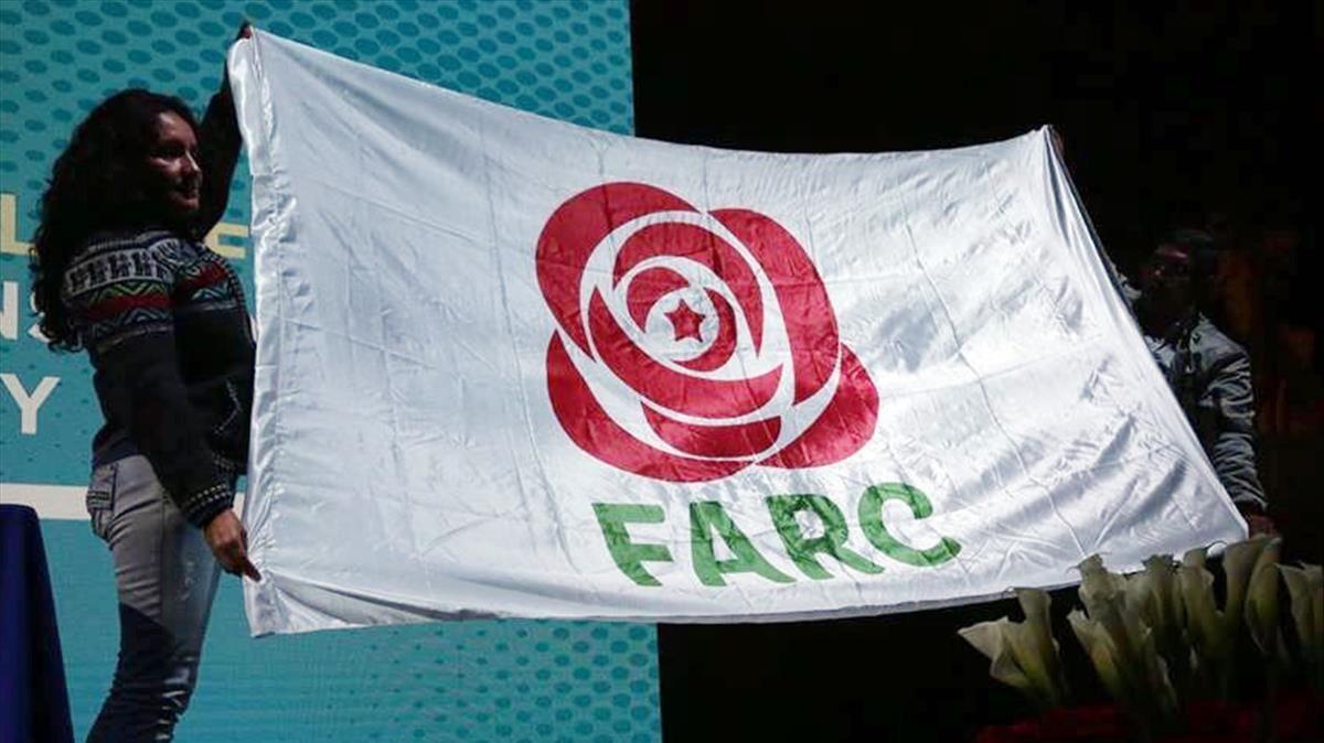 Imagen del nuevo logo de la FARC: Fuerza Alternativa Revolucionaria del Común.