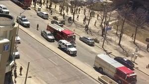 Una camioneta arrolla a una decena de personas en Toronto
