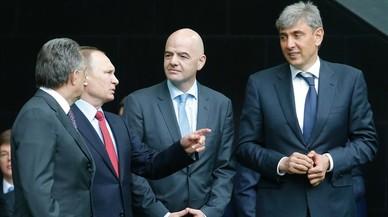 El 'buen' oligarca que promociona el fútbol de base en Rusia