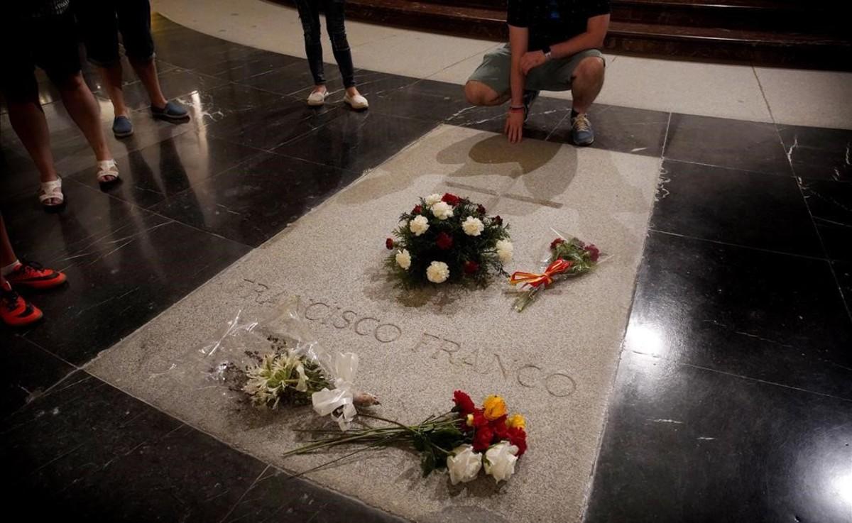 La tumbade Franco en el Valle de los Caídos.