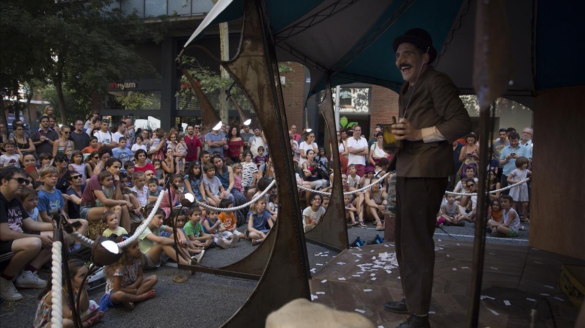 El circ 'vintage' del Rosselló