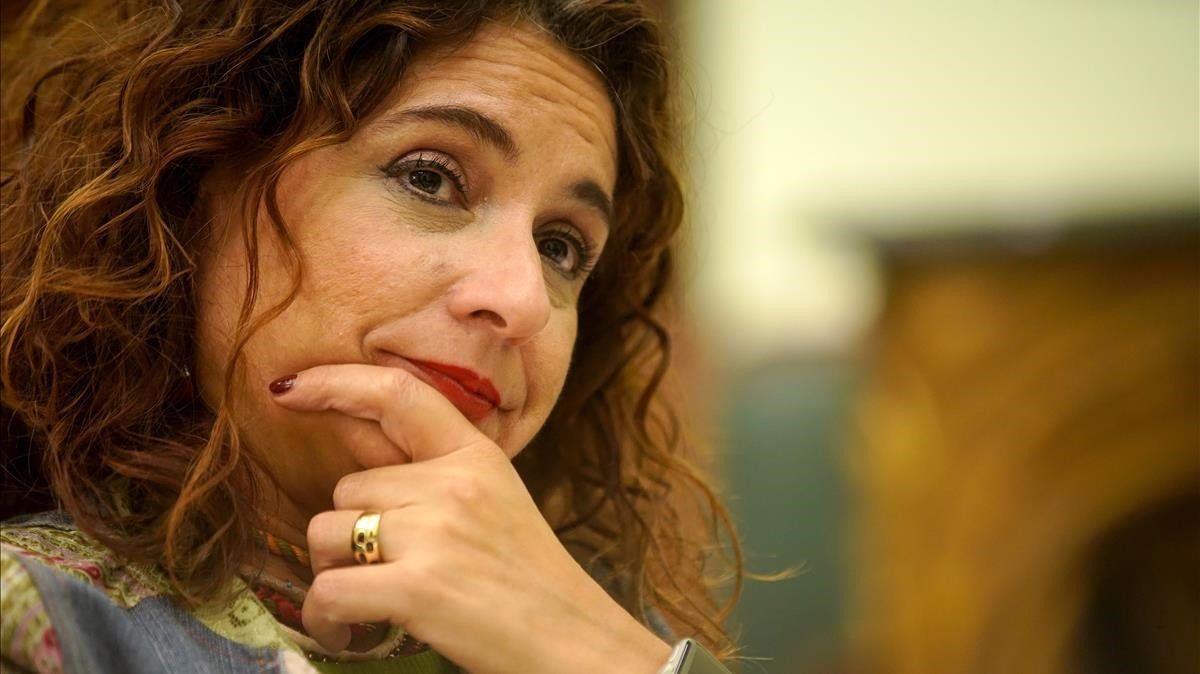 La ministra de Hacienda, María Jesús Montero, en una imagen de archivo.