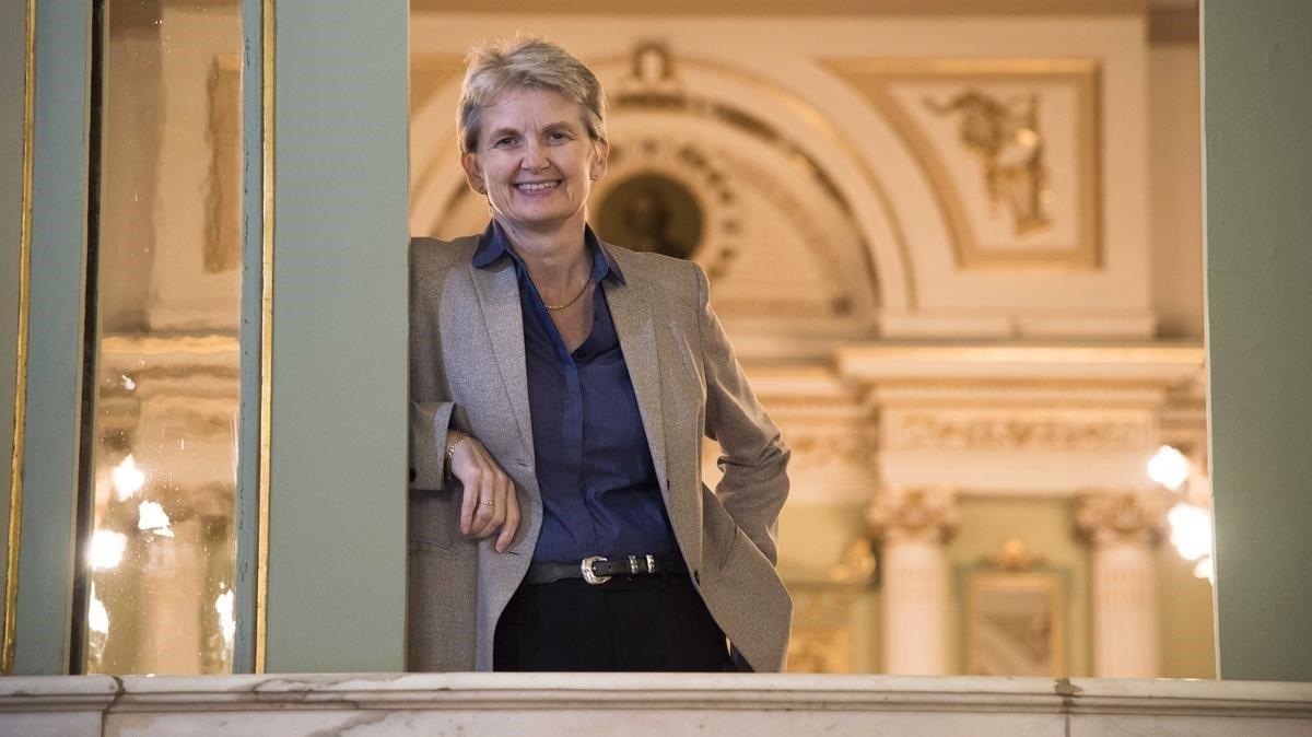Christina Scheppelmann, ex directora artística del Liceu actualmente al frente de la ópera de Seatle.