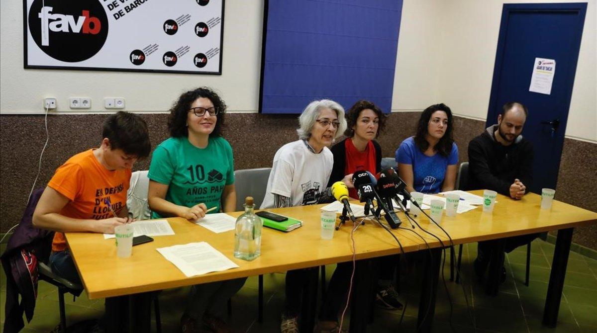 Los movimientos sociales pidenponer laciudad en el centro.