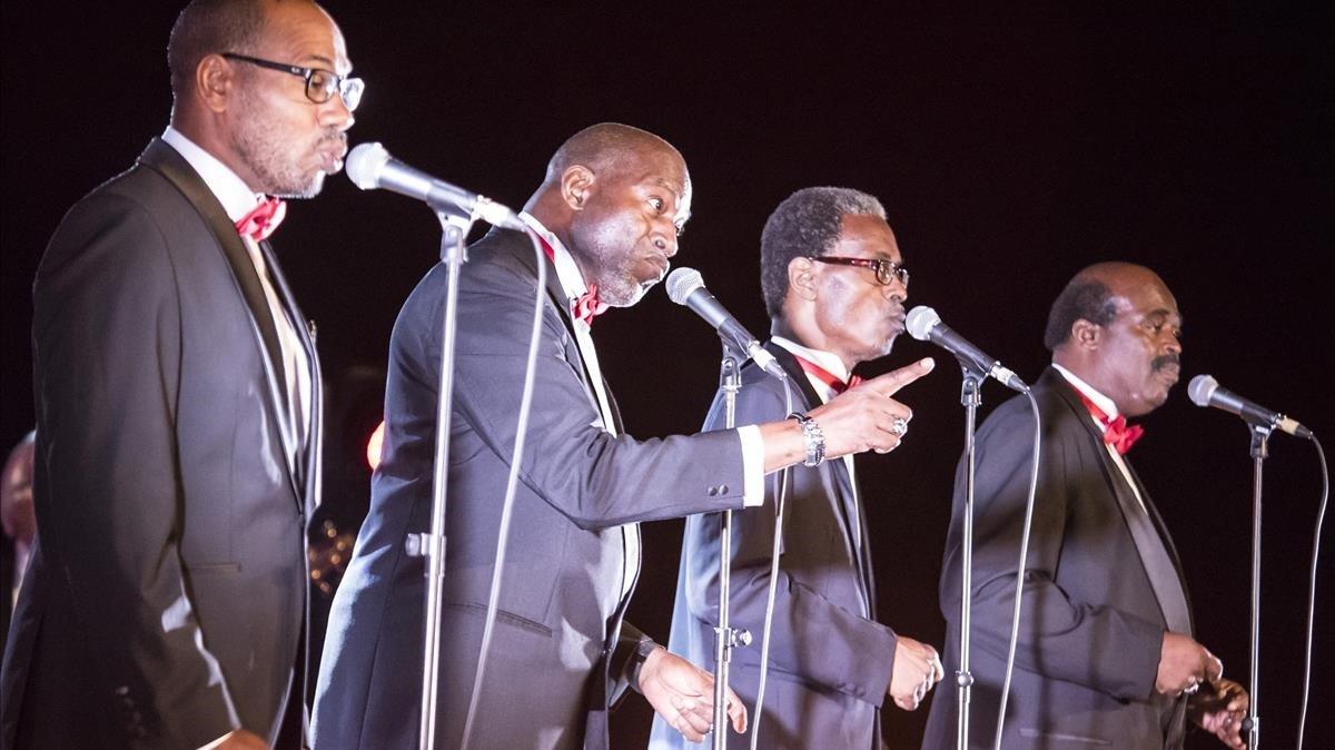 The Golden Gate Quartet, veus celestials en el Jazz Festival l'Estartit