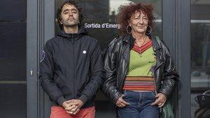 Martí Sales y Lulú Martorell.